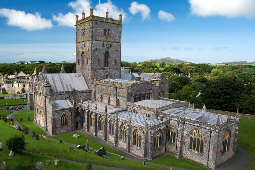 St David's Cathedral in Pembrokeshire